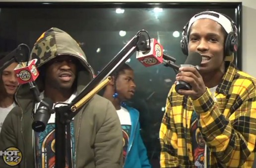 A$AP Mob – Funk Flex Freestyle (Video)