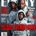 Dwyane Wade's Sons Pay Homage To Trayvon Martin On The Cover of Ebony Magazine (Photo)