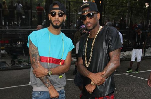 Swizz Beatz & Fabolous Launch Reebok Question Mid At Rucker Park (Video)