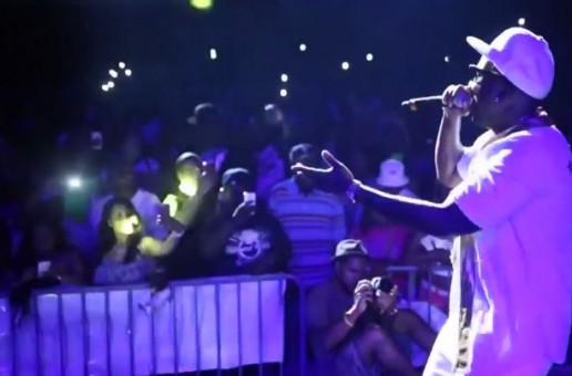 Young Jeezy Brings Out Doughboyz Cashout at Detroit Summer Jam (Video)