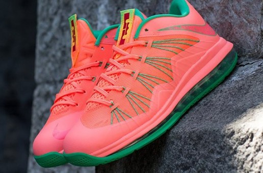 Nike Air Lebron X Low (Mango) (Release 8-17-13) (Photos)