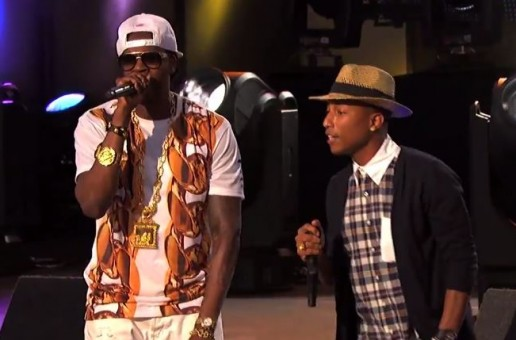 2 Chainz – Feds Watching Ft. Pharrell X Live On Jimmy Kimmel (Video)