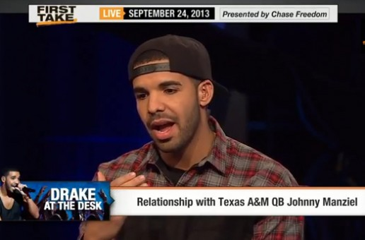 Drake Takes On Stephen A. Smith & Skip Bayless on ESPN First Take (Video)