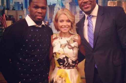 50 Cent Guest On Live With Kelly & Michael (Video)