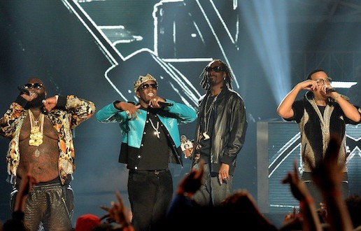 French Montana, Diddy, Rick Ross & Snoop Dogg – A.W.A.N. (Remix) (Live At 2013 BET Hip Hop Awards) (Video)