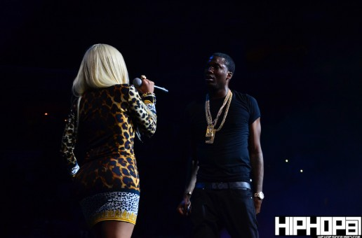 Meek Mill brings out Nicki Minaj & French Montana at Powerhouse 2013 (Video)