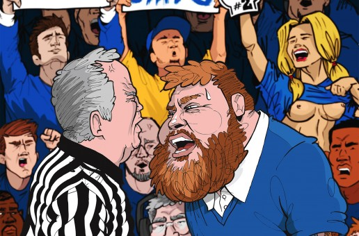 Action Bronson & Party Supplies' 'Blue Chips 2′ Official Artwork