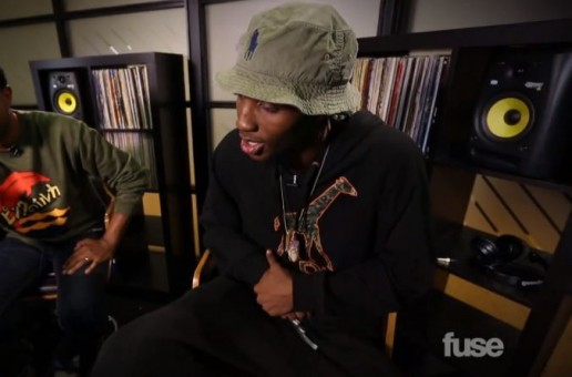 CJ Fly Breaks Down Thee Way Eye See It Mixtape W/ Fuse (Video)