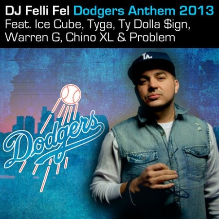 image12 DJ Felli Fel   Dodgers Anthem 2013 Ft. Ice Cube, Tyga, Ty Dolla $ign, Warren G, Chino XL & Problem