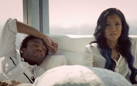 Jhene Aiko – Bed Peace Ft. Childish Gambino (Video)
