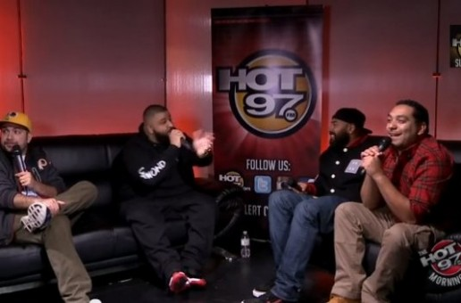 DJ Khaled And Rick Ross Invade Hot 97