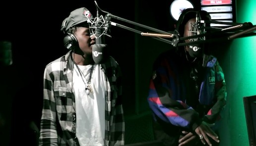 Joey Bada$$ & Kirk Knight – DJ Semtex Freestyle (Video)