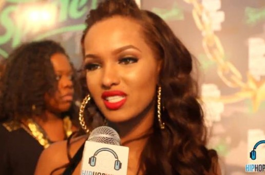 Lola Monroe Speaks On Leaving Taylor Gang At 2013 BET Hip Hop Awards (Video)