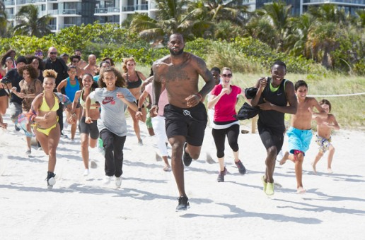 Nike x Lebron James – Training Day (Video)