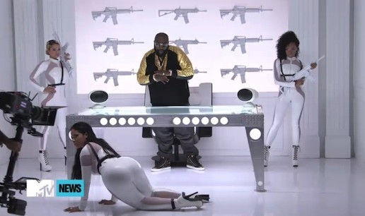 Rick Ross – No Games Ft. Future  (BTS) (Video)