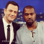 Jimmy Kimmel & Kanye West Patch Things Up On His Late Night Show (Video)
