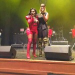 "Lil Kim & Tiffany Foxx Perform ""Jay-Z"" In London (Video)"