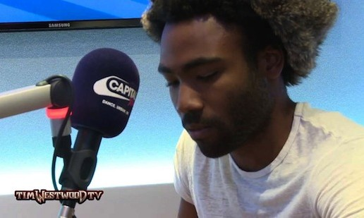 Childish Gambino – Tim Westwood Freestyle (Video)