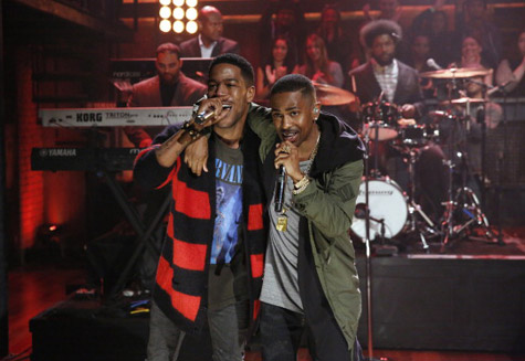 Big Sean – First Chain Ft. Kid Cudi (Live On Late Night With Jimmy Fallon) (Video)