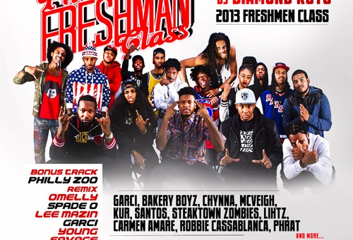 DJ Diamond Kuts – Philly Freshman Class 2013 (Mixtape)