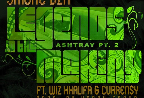 Smoke DZA – Legends In The Making (Ashtray Pt. 2) Ft. Wiz Khalifa & Curren$y