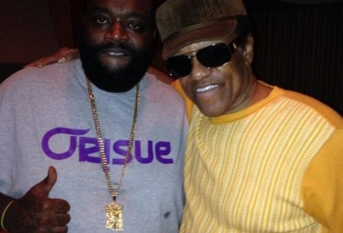 Rick Ross & Bobby Womack In Studio (Photo)