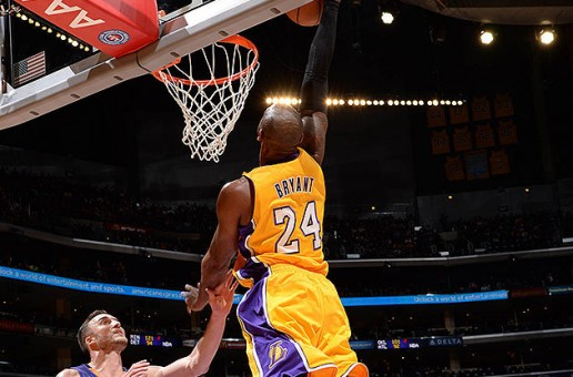 Kobe's First Dunk of the Season (Video)