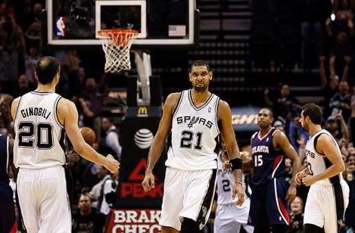 Tim Duncan's Heroics Push The Spurs Pass The Atlanta Hawks (102-100)