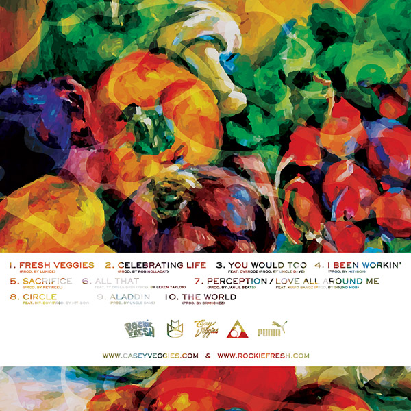 fresh veggies Rockie Fresh & Casey Veggies   Fresh Veggies (Mixtape)