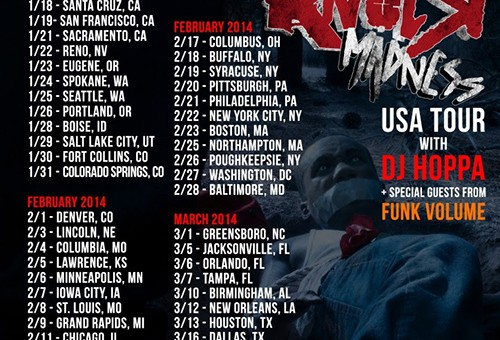 Hopsin Announces 'Knock Madness' US Tour Dates