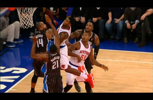 Iman Shumpert Dunks On Orlando Magic Guards Jameer Nelson & Moe Harkless (Video)