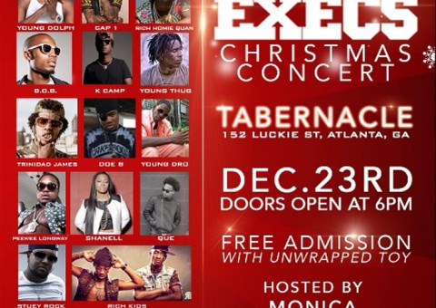 Street Execs Present: 4th Annual Christmas Concert (Hosted by Fort Knox) (Dec. 23rd)