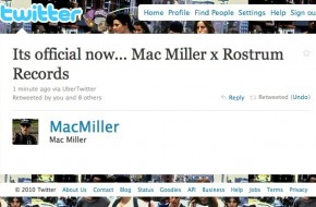 Mac Miller Leaves Rostrum Records & Becomes A Free Agent