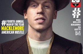 Macklemore Covers The Source Magazine's Man Of The Year Issue (Photo)