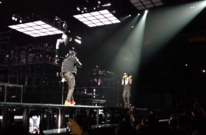 Jay-Z Brings Out Meek Mill in Philly (Video)