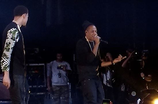 Jay Z Performs & Gives J Cole Original Roc A Fella Chain
