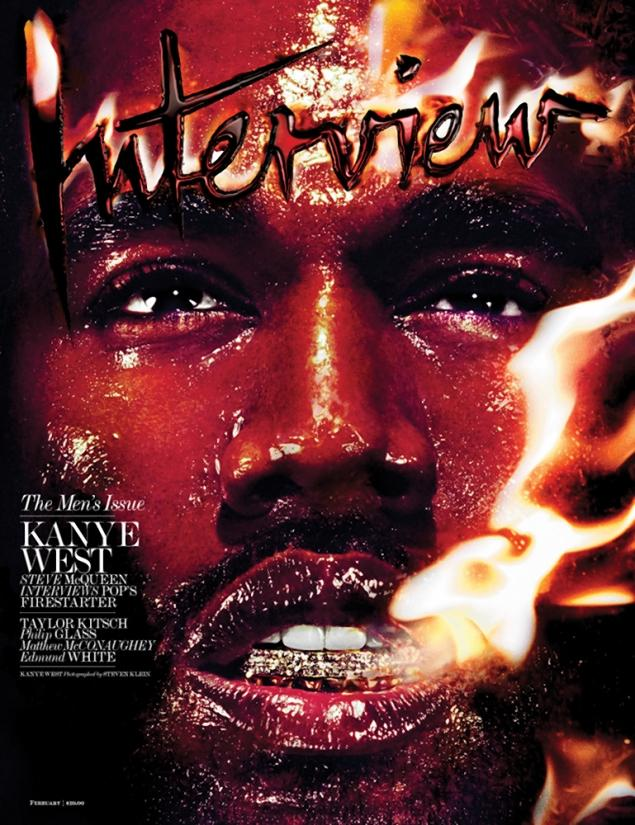 kanye 6 Kanye West Covers Interview Magazine (Photo)