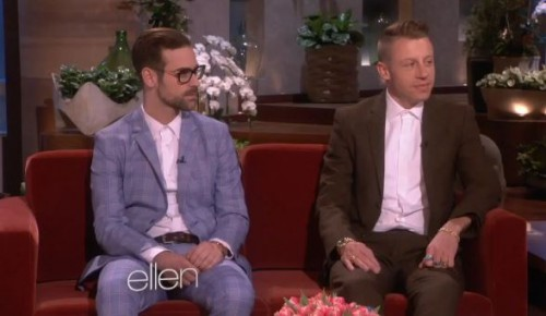 Macklemore & Ryan Lewis On The Ellen Show (Video)