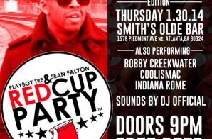 Playboy Tre & Sean Falyon Present – Red Cup Party: Pretty Ken Edition (2-6-14)