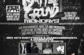Hot 107.9 x Durrty Boyz Presents: Battle Ground Monday with DJ Scream (Hosted by Gambino & Amber Jaii) (2-17-14)