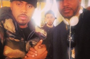 Diplomatic Immunity: Cam'ron & Nas Settle their Differences (Photo)