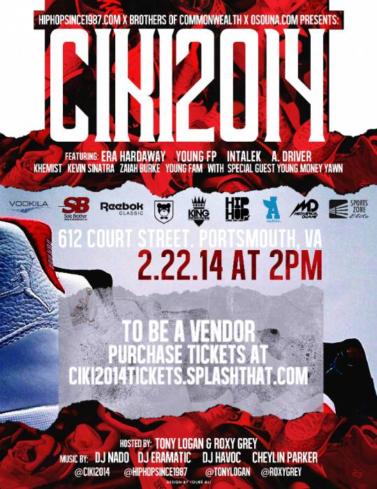 CIKI2014FLYERLITE #HHS1987 PRESENTS: CAN I KICK IT 2014 SHOWCASE & FESTIVAL (VIRGINIA) | DOORS OPEN AT 2PM | FREE TILL 5PM !!