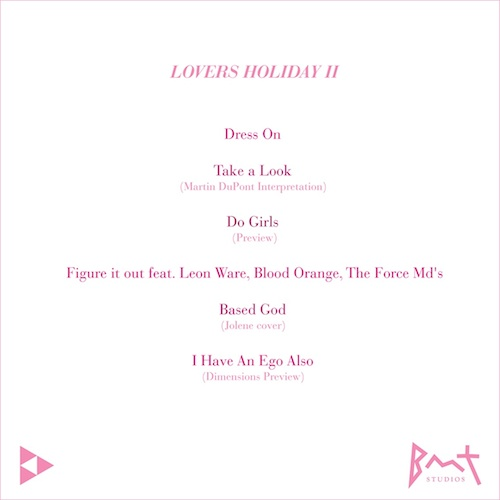 OVLWSej Theophilus London – Lovers Holiday 2 EP