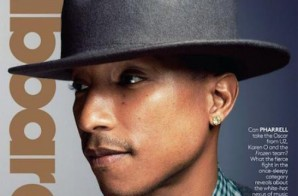 Pharrell Covers Billboard Magazine (Photo)