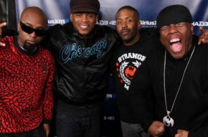Tech N9ne, Murs, & Krizz Kaliko Freestyle On Sway In The Morning
