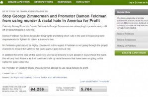 Petition Calls To Stop George Zimmerman Boxing Match