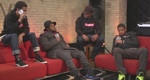 Schoolboy Q, Vado & Vic Mensa Spit an Acappella Freestyle on MTV's RapFix (Video)