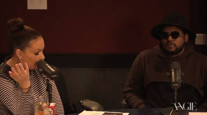 angieandschoolboyqtalk Schoolboy Q Says He Wish 50 Cent & E 40 Would Have Made His Album (Video)