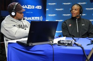 Cam Newton aka Ace Boogie Freestyles with Sway (Video)