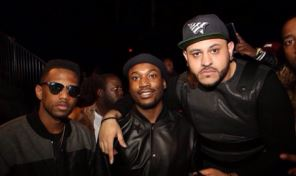 fabmeek1 Meek Mill, Fabolous, Victor Cruz At EN|NOIR NYFW Runway Show (Photos)